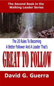 Great To Follow by David G. Guerra
