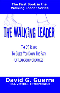 Walking Leader by David G. Guerra
