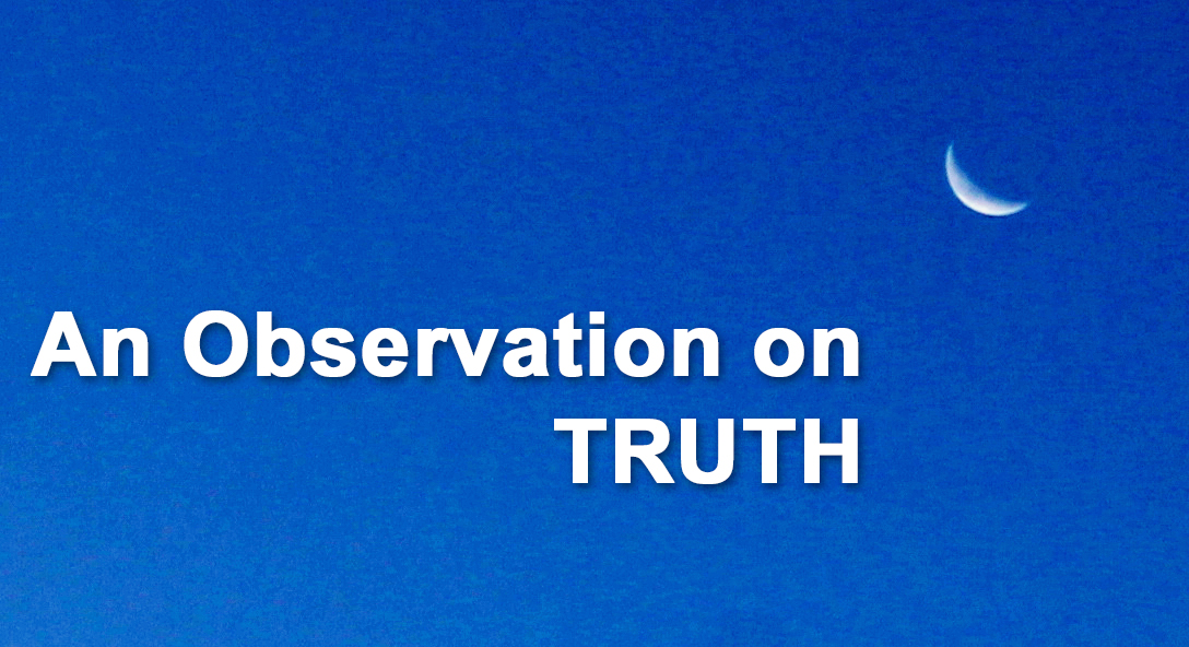 an observation on truth by david g guerra