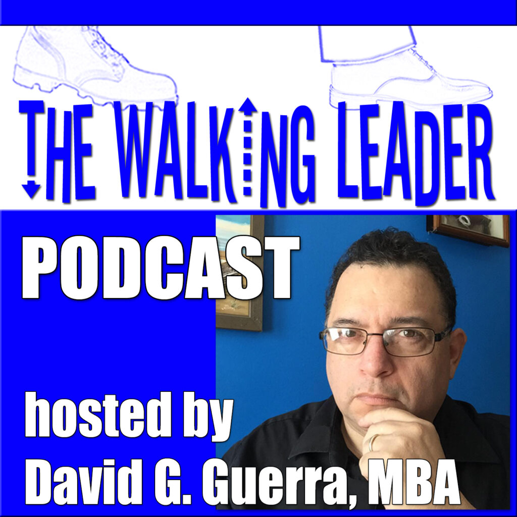 the walking leader podcast cover image